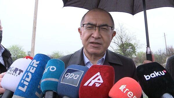 Директор Агентства информации и массовых коммуникаций при Администрации президента Узбекистана Асаджон Ходжаев - Sputnik Азербайджан