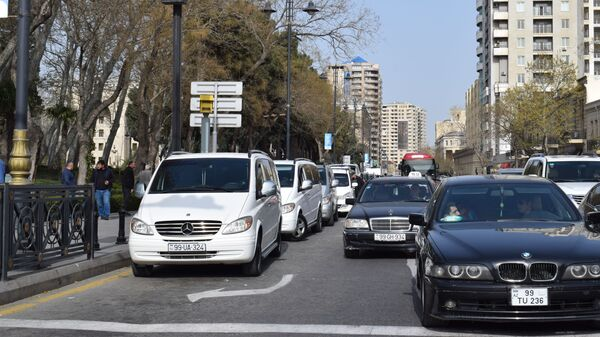 Автомобили в Баку, фото из архива - Sputnik Азербайджан