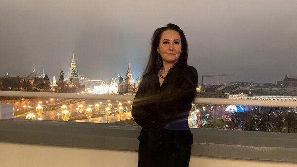 Азербайджанская художница Гама Меликова, фото из архива - Sputnik Азербайджан