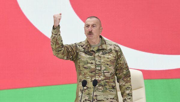 Ильхам Алиев, фото из архива - Sputnik Азербайджан
