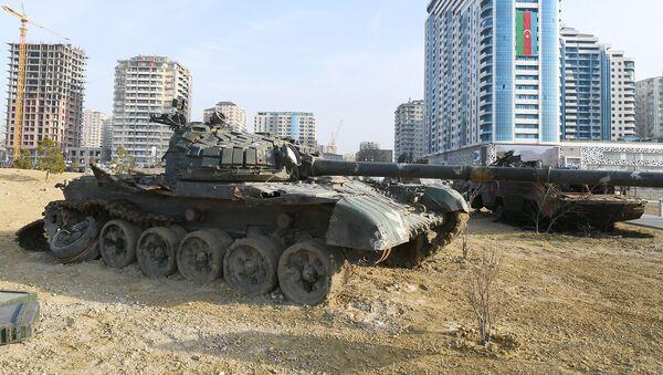 Парк военных трофеев в Баку - Sputnik Азербайджан
