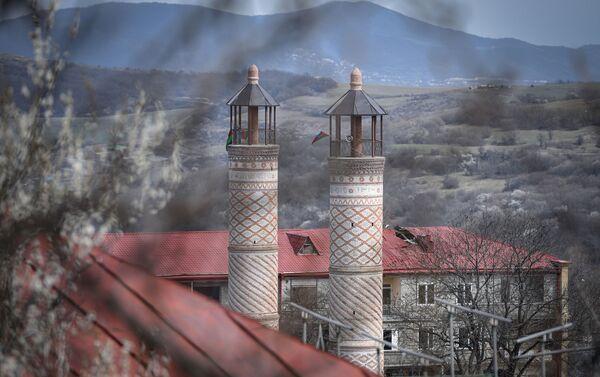 Yuxarı Gövhar Ağa məscidi - Sputnik Azərbaycan