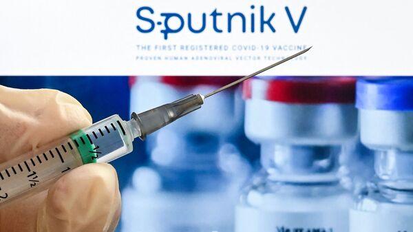 Вакцина Sputnik V, фото из архива - Sputnik Azərbaycan