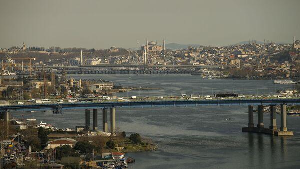 Вид на город Стамбул, фото из архива - Sputnik Азербайджан
