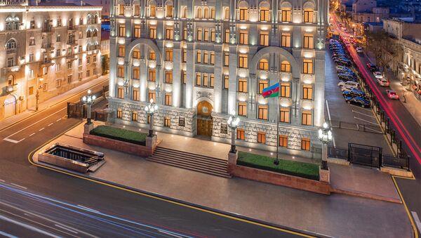 Здание Министерства Внутренних Дел Азербайджанской Республики - Sputnik Азербайджан