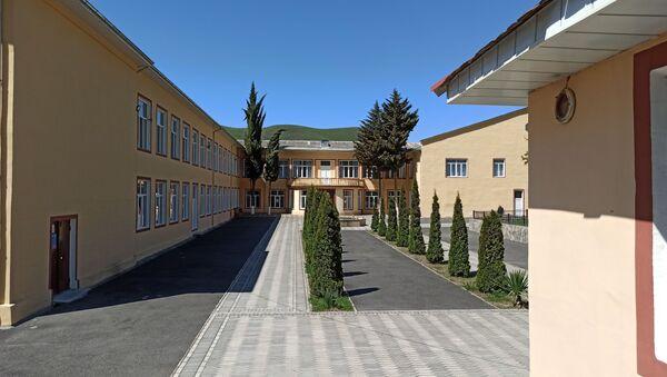 Azərbaycan Dövlət Pedaqoji Universitetinin Şəki filialı  - Sputnik Азербайджан