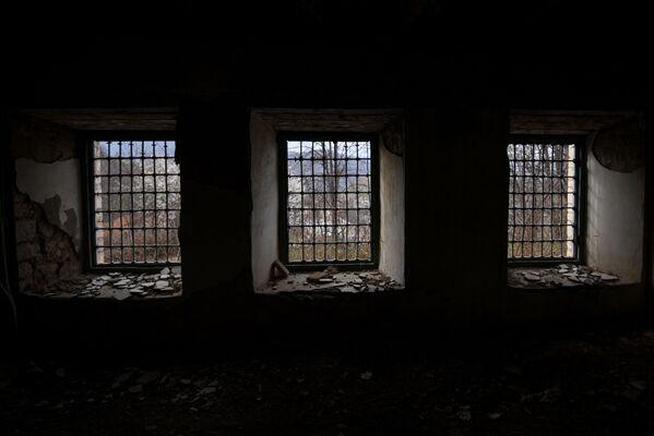 Дом в городе Шуша, принадлежавший известной азербайджанской поэтессе XIX века Хуршидбану Натаван. - Sputnik Азербайджан