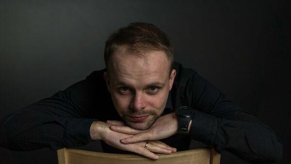 Украинский исполнитель Александр Якимец   - Sputnik Азербайджан