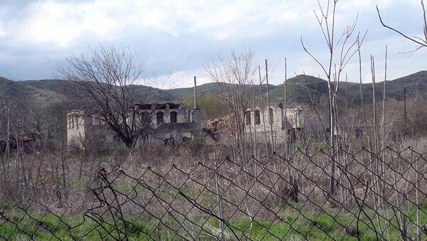 Qubadlı rayonunun Məmər kəndi - Sputnik Азербайджан