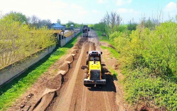 Реконструкция дорог в Агджабединском районе - Sputnik Азербайджан