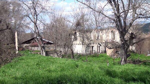 Село Улашлы Губадлинского района - Sputnik Азербайджан