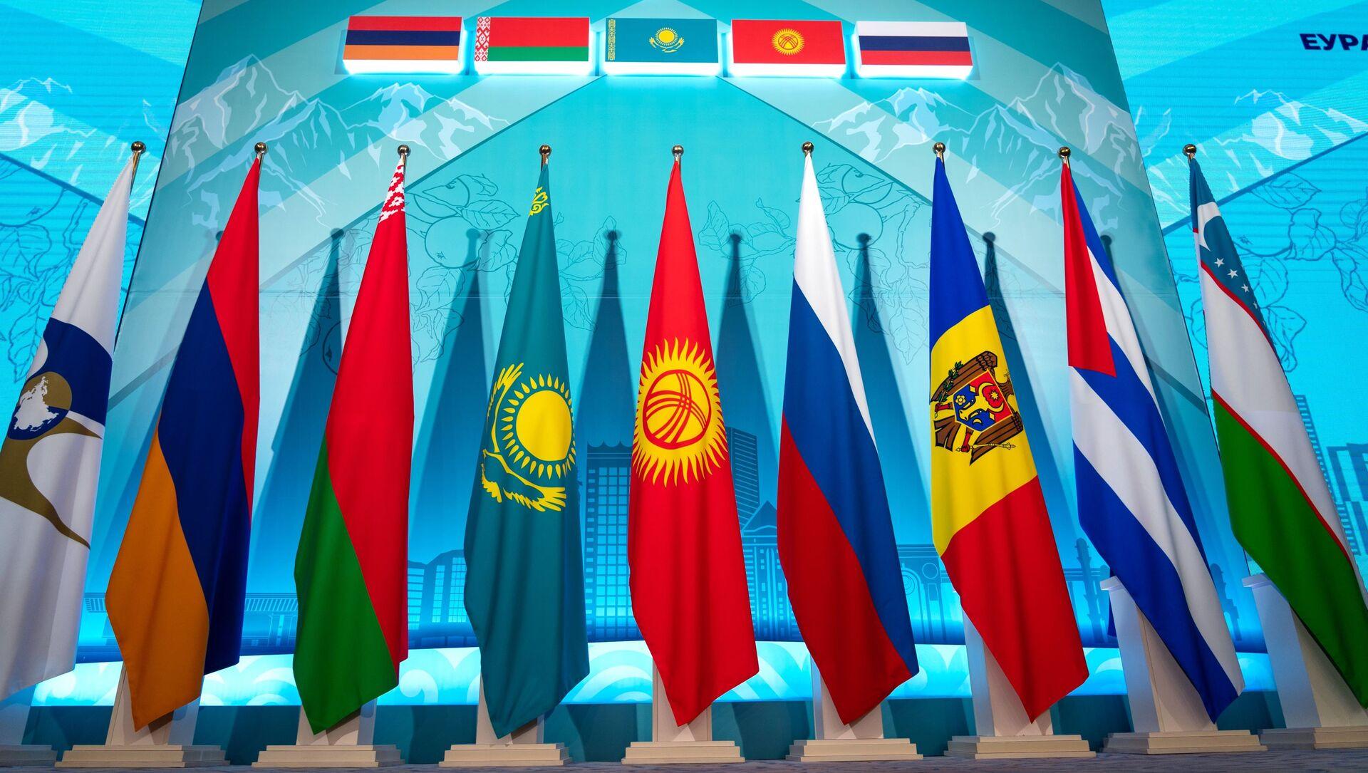 Заседание Евразийского межправительственного совета стран ЕАЭС - Sputnik Азербайджан, 1920, 21.04.2021