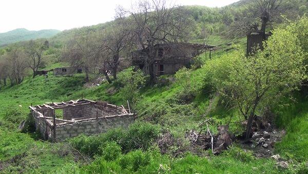 Nəcəflər kəndində - Sputnik Азербайджан