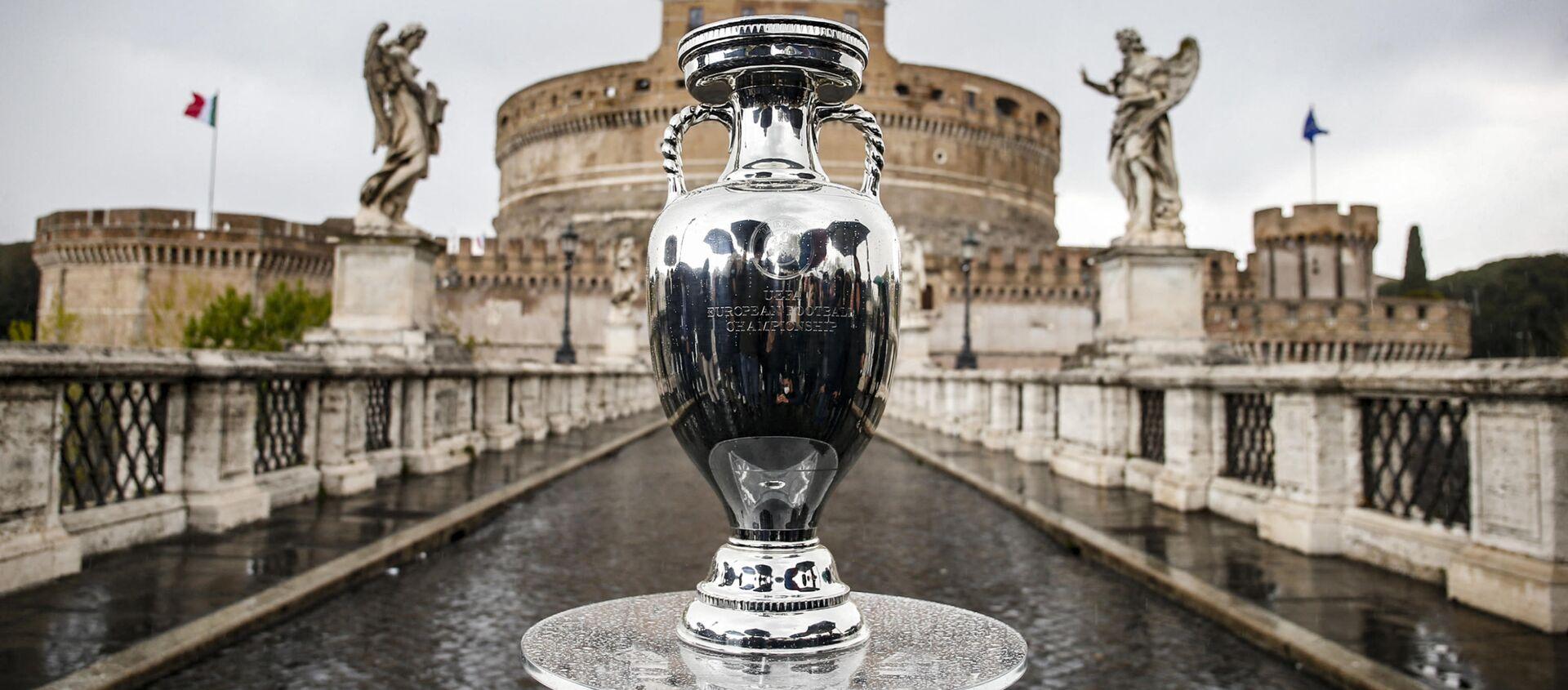 Кубок Евро-2020 в Риме, фото из архива - Sputnik Азербайджан, 1920, 03.05.2021
