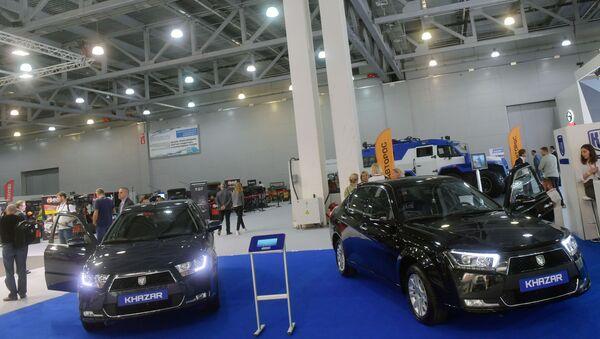 Московский международный автомобильный салон - Sputnik Азербайджан