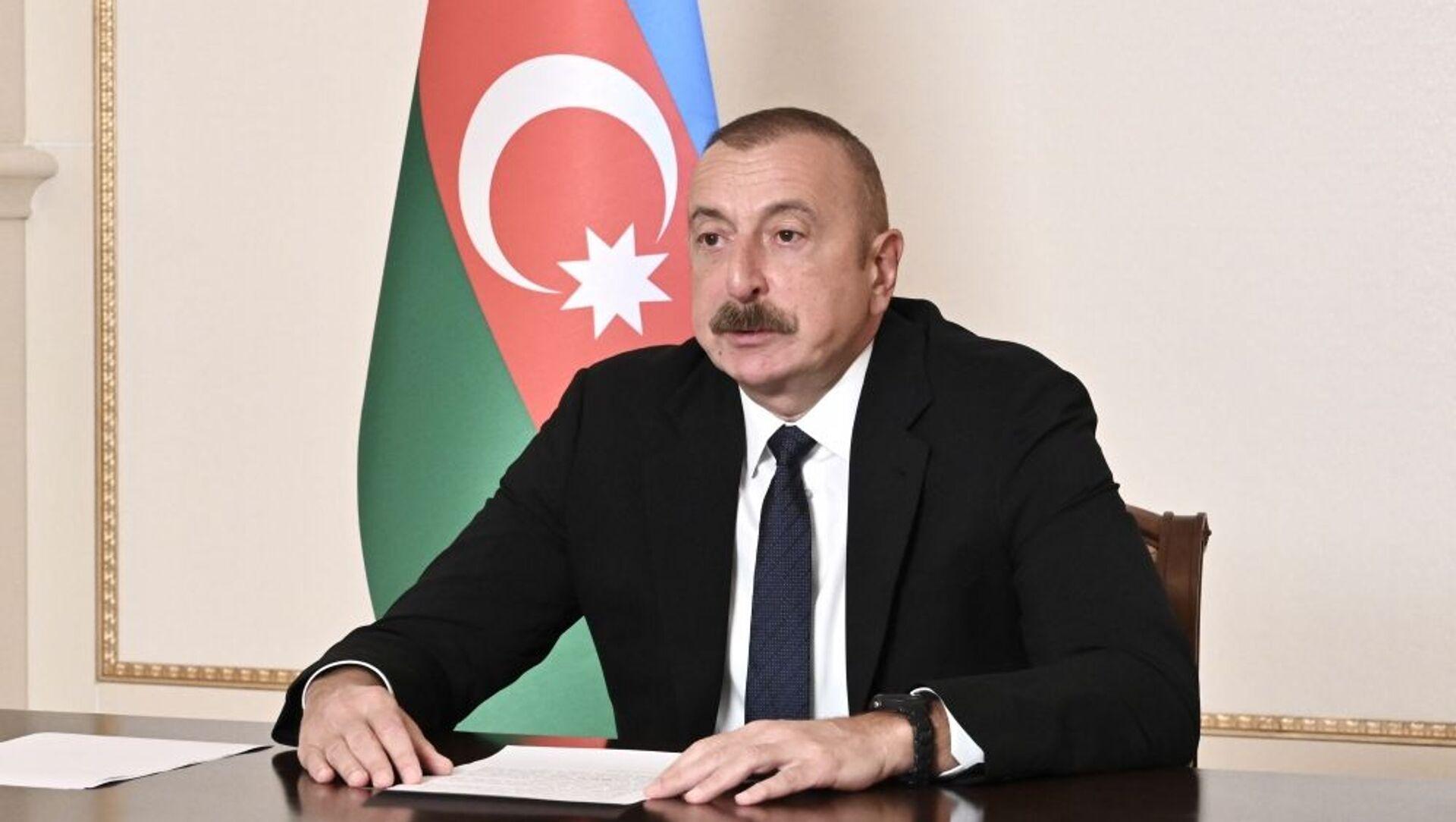 Президент АР Ильхам Алиев - Sputnik Азербайджан, 1920, 26.04.2021