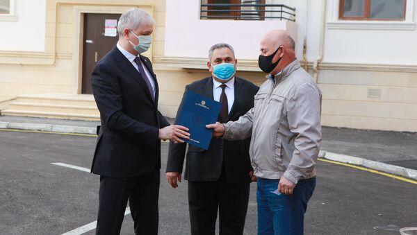 Ликвидаторам чернобыльской аварии выдали квартиры в Баку - Sputnik Азербайджан
