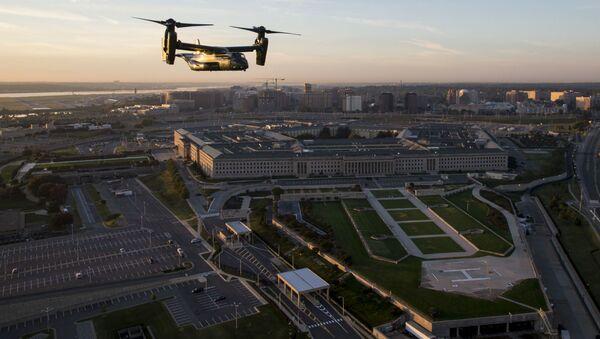 Здание Пентагона в Вашингтоне - Sputnik Azərbaycan