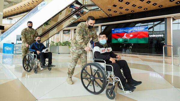 Отправка ветерана на лечение в Турцию - Sputnik Азербайджан