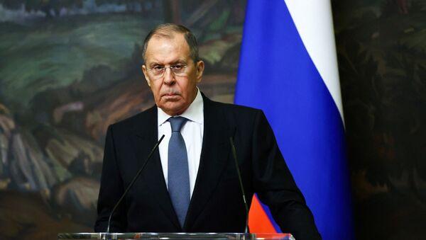 Министр иностранных дел РФ Сергей Лавров, фото из архива - Sputnik Азербайджан