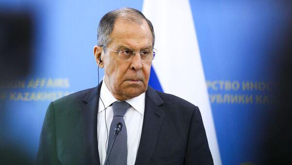 Министр иностранных дел РФ Сергей Лавров, фото из архива - Sputnik Azərbaycan
