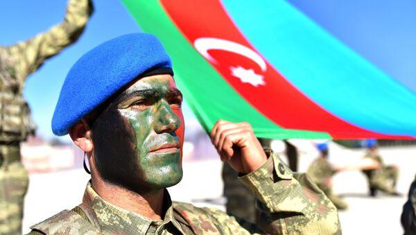 Азербайджано-турецкие совместные тактические учения - Sputnik Азербайджан