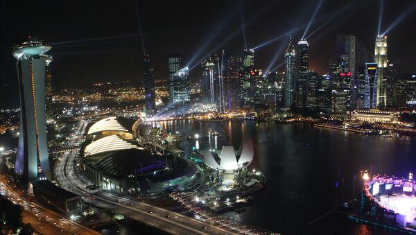 Города мира. Сингапур - Sputnik Азербайджан