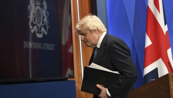 Премьер-министр Великобритании Борис Джонсон, фото из архива - Sputnik Азербайджан