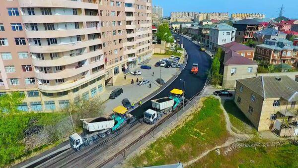 Xətaidə iki əsas küçədə təmir işləri - Sputnik Азербайджан