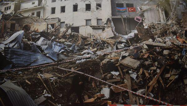 Выставка «Государственный терроризм Армении в объективе азербайджанских фотографов» - Sputnik Азербайджан