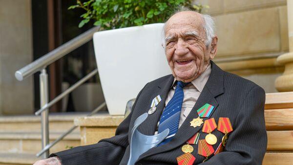 Ветеран Великой Отечественной войны Тамлейха Гасанов - Sputnik Azərbaycan