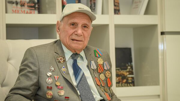 Ветеран Великой Отечественной войны Назим Рамазанов - Sputnik Азербайджан