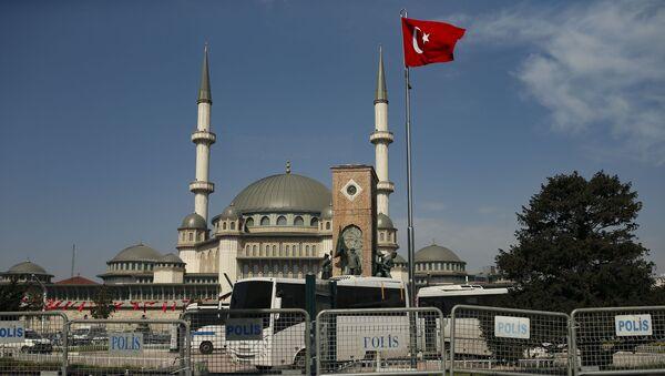 Ситуация в связи с эпидемиологической обстановкой в Турции - Sputnik Azərbaycan