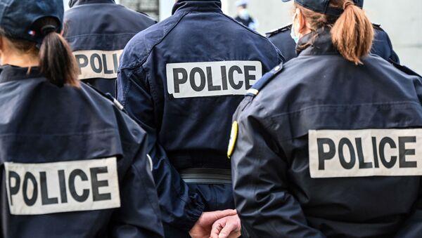 Полиция Франции, фото из архива - Sputnik Azərbaycan