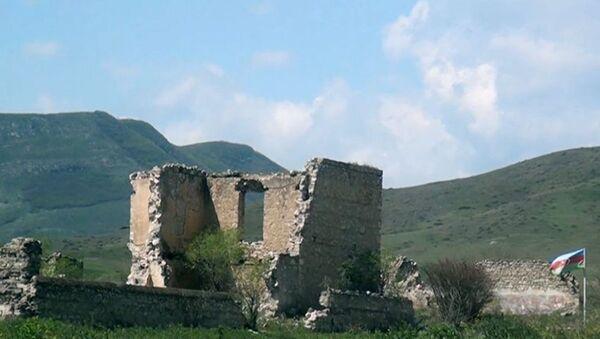 Село Сарыхаджилы - Sputnik Азербайджан