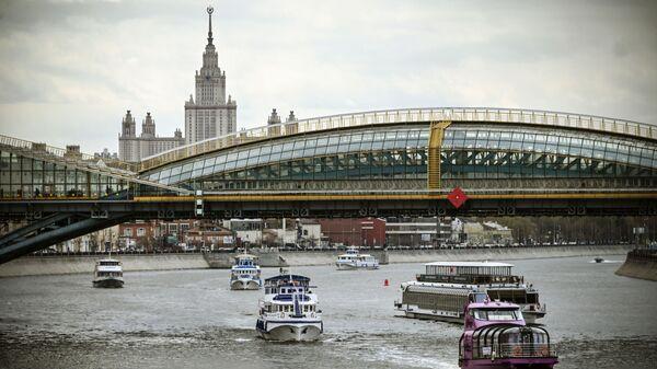 Вид на Москву-реку, фото из архива - Sputnik Azərbaycan