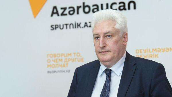 Главный редактор журнала Национальная оборона Игорь Коротченко - Sputnik Азербайджан