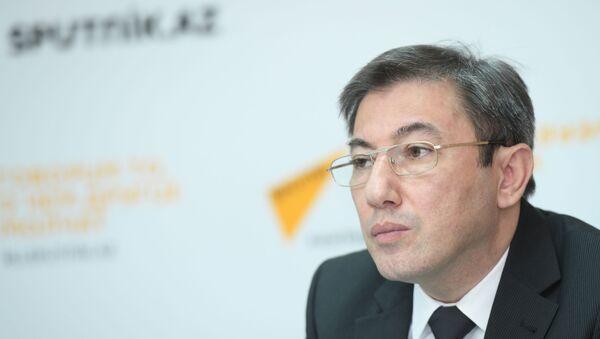 Руководитель клуба политологов Южный Кавказ Ильгар Велизаде - Sputnik Azərbaycan