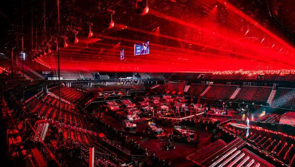 Сцена Евровидения-2021 концертного зала Ahoy в Роттердаме - Sputnik Азербайджан