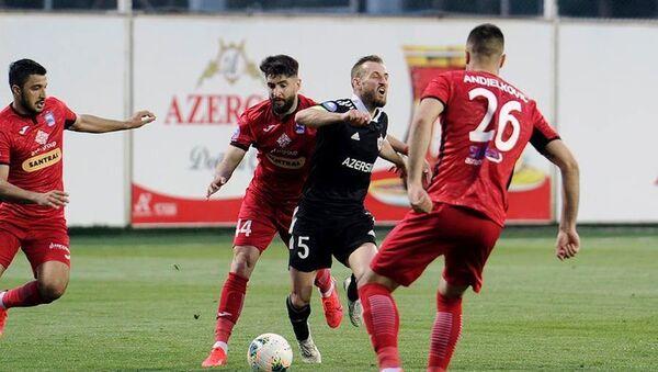 Игровой момент на матче Карабах Зире - Sputnik Азербайджан