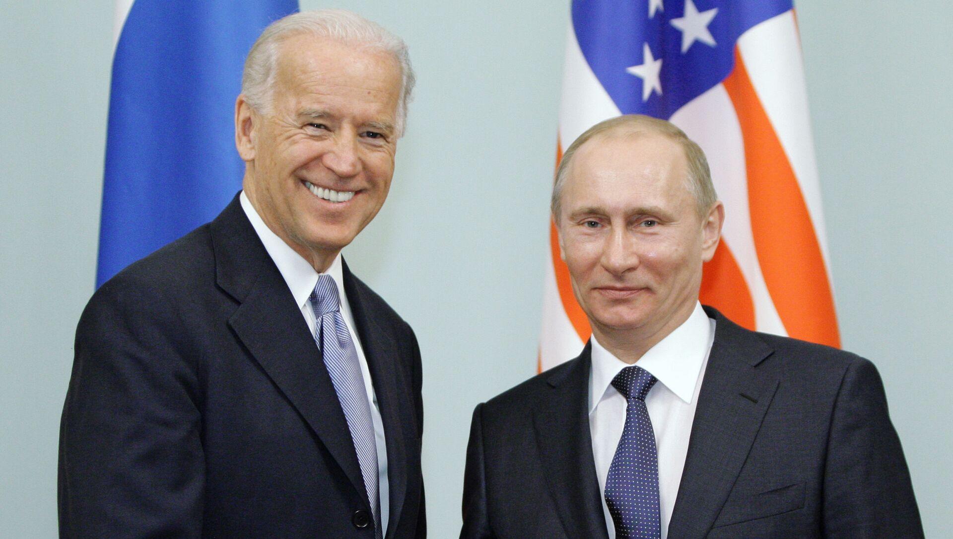 Встреча Владимира Путина с Джозефом Байденом в Москве - Sputnik Азербайджан, 1920, 10.05.2021