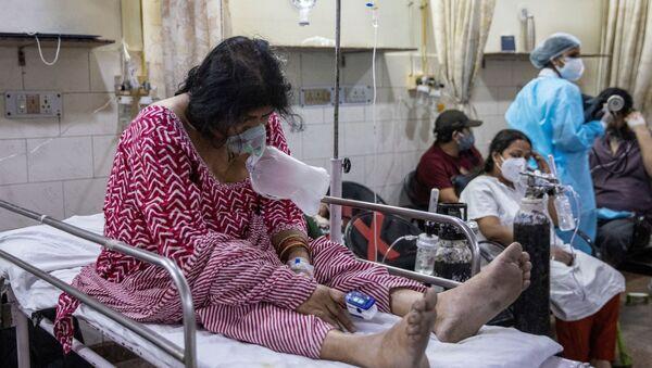 Ситуация в связи с эпидемиологической обстановкой в Индии - Sputnik Азербайджан