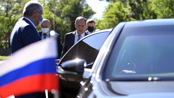 Rusiya XİN rəhbəri Sergey Lavrov, arxiv şəkli - Sputnik Азербайджан