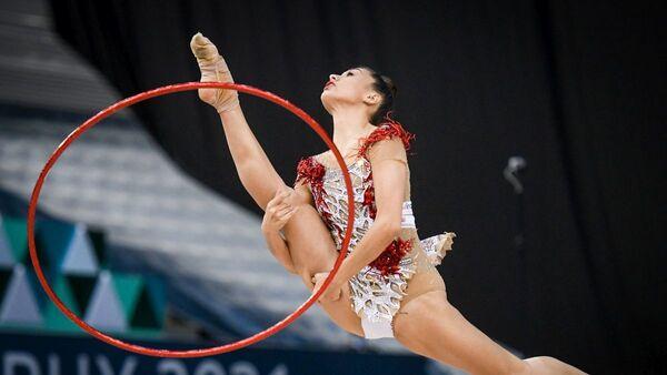 Bakıda bədii gimnastika üzrə Dünya Kuboku - Sputnik Azərbaycan