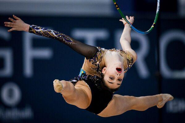 Казахская спортсменка Адильханова Алина - Sputnik Азербайджан