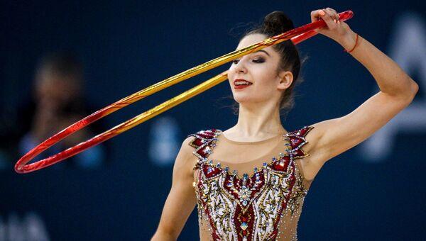 Латвийская гимнастка Елизавета Полстяная (1) - Sputnik Азербайджан
