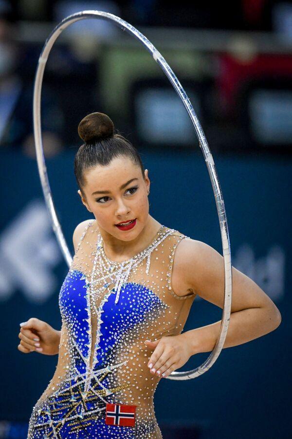 Норвежская гимнастка Ингрид Братсберг - Sputnik Азербайджан