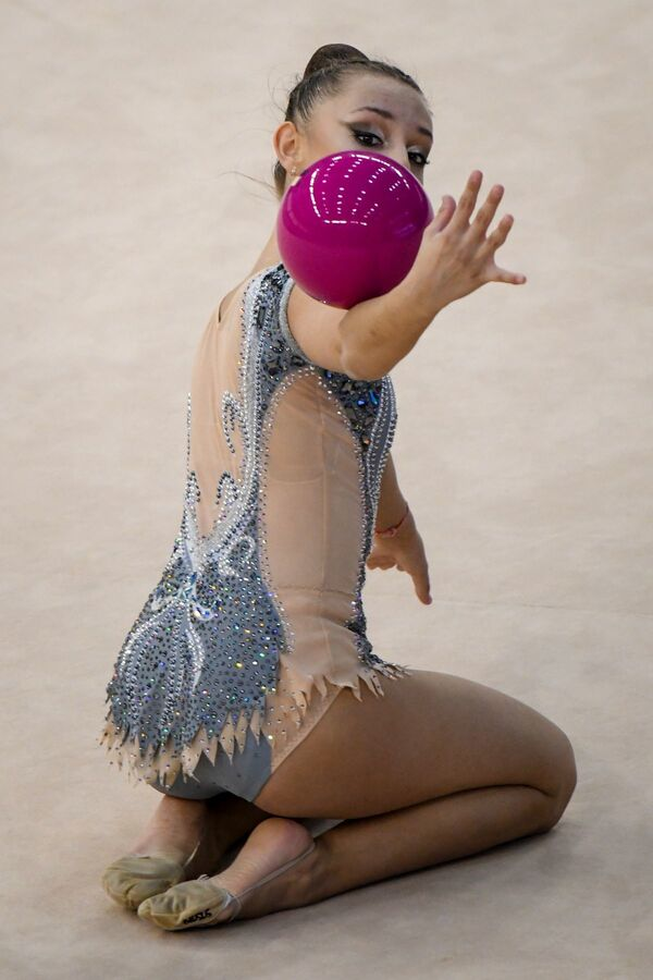 Португальская гимнастка Далия Порохня - Sputnik Азербайджан
