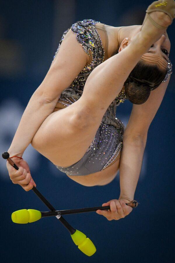 Португальская гимнастка Рита Арауджио - Sputnik Азербайджан