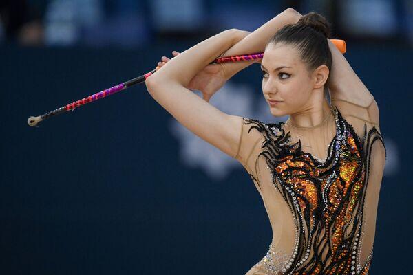 Американская гимнастка Эвита Грискенас - Sputnik Азербайджан